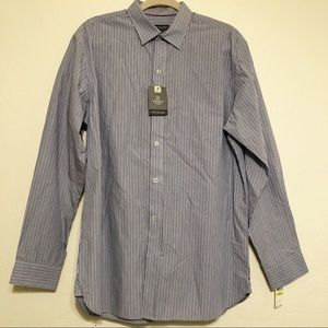 Van Heusen Men's Long Sleeve Casual Shirt Size M